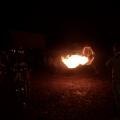 Drachenfeuer in der Nacht
